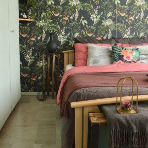 Behang slaapkamer